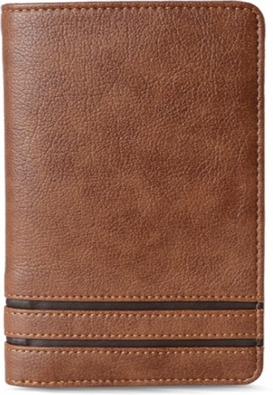 Baggit Men Brown Artificial Leather Wallet(6 Card Slots)