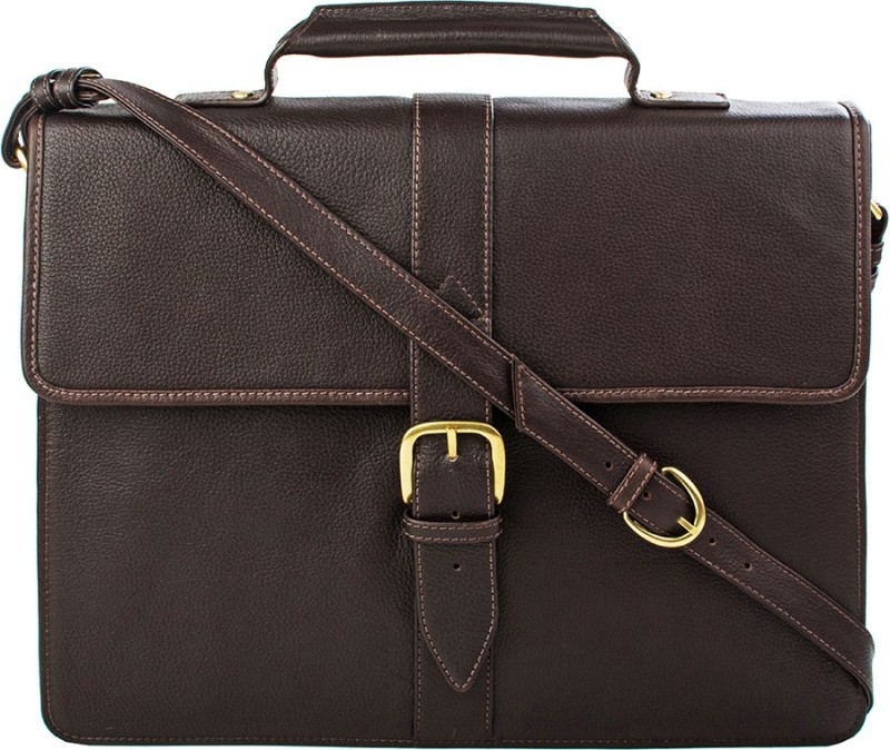 Hidesign SB BENNETT 1-REGULAR-BROWN Medium Briefcase - For Men(Brown)