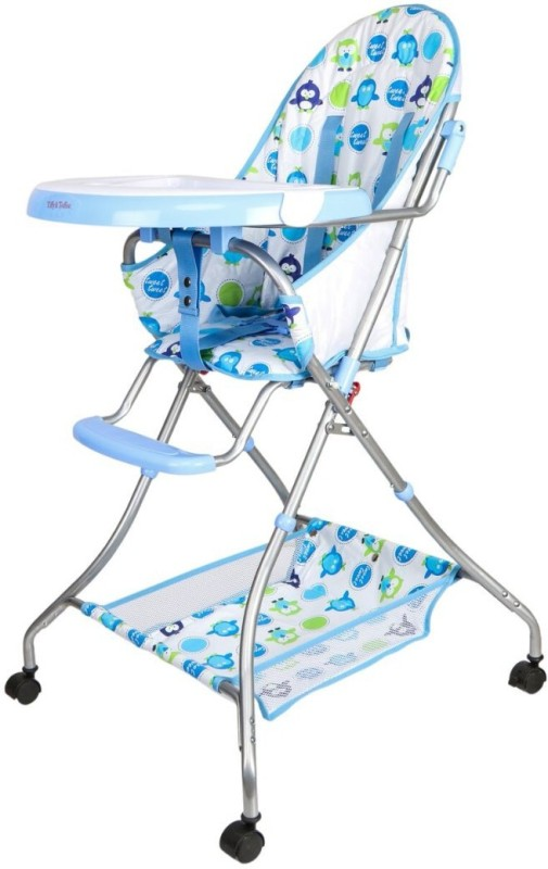 Tiffy & Toffee Baby Etiquette High Chair(White, Blue)