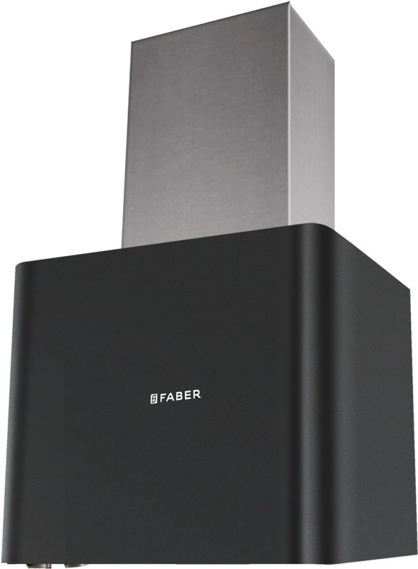 Faber Hood Peppy Plus BK LTW 45 (330.0497.209) Wall Mounted Chimney(Black 1000)