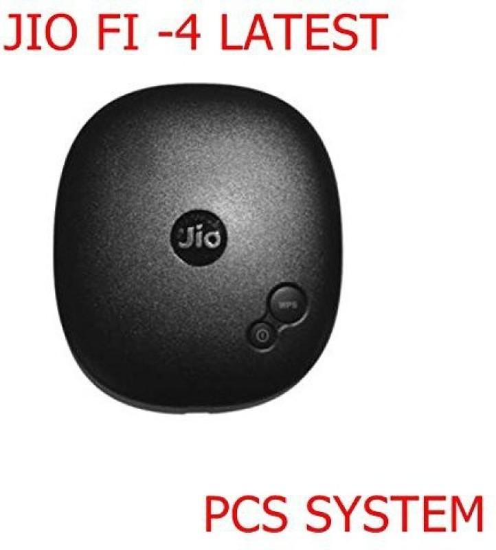 Jio JioFi4 Data Card(Black)