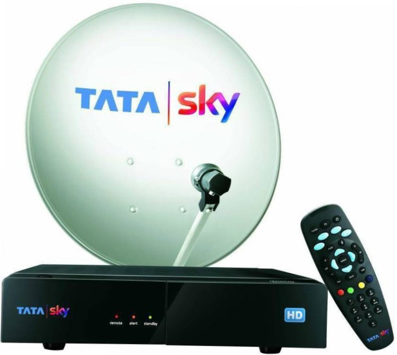 Tata Sky HD box with 1 month Dhamaal English pack