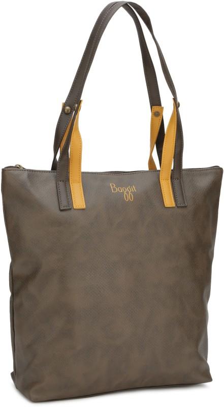 Baggit Hand-held Bag(Brown)