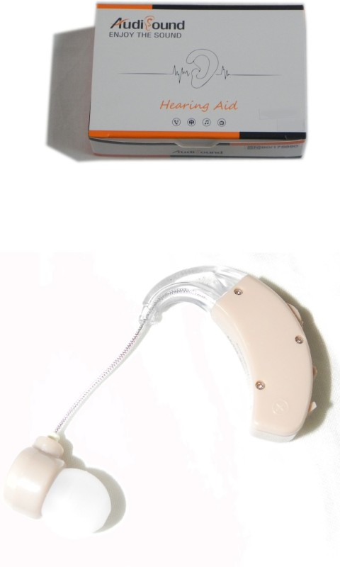 Audisound 158 Cityheath Clear Sound Listening Behind the Ear Hearing Aid(Beige)