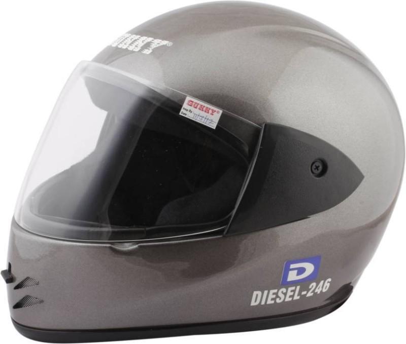 Sunny DIESEL DXX Motorbike Helmet(SILVER GREY)