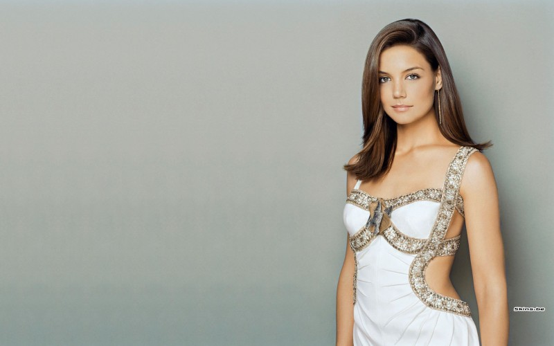 Celebrity Katie Holmes Actresses United States HD Wall Poster Photographic Paper(12 inch X 18 inch, Rolled)
