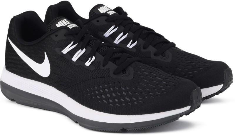 Nike WMNS NIKE ZOOM WINFLO 4 Running Shoes For Women(Black)