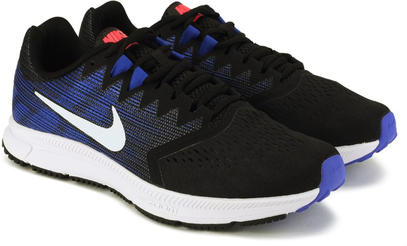 Nike WMNS NIKE ZOOM SPAN 2 Running Shoes For Women(Black, Blue)