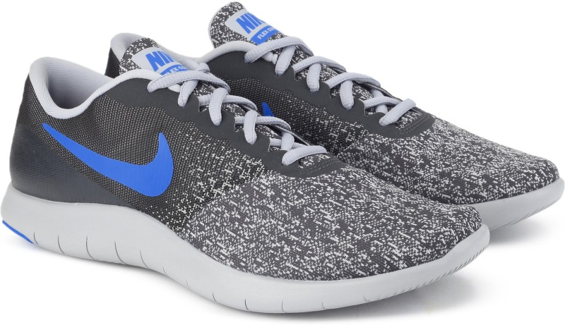 Nike FLEX CONTACT Running Shoes For Men(Grey)