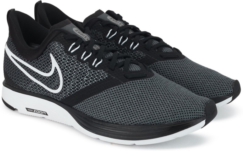 Nike WMNS NIKE ZOOM STRIKE Running Shoes For Women(Grey)