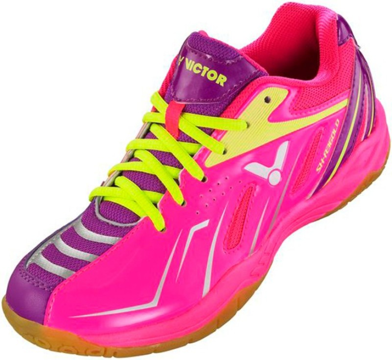 Victor SH-A360-LD Badminton Shoes For Women(Pink)