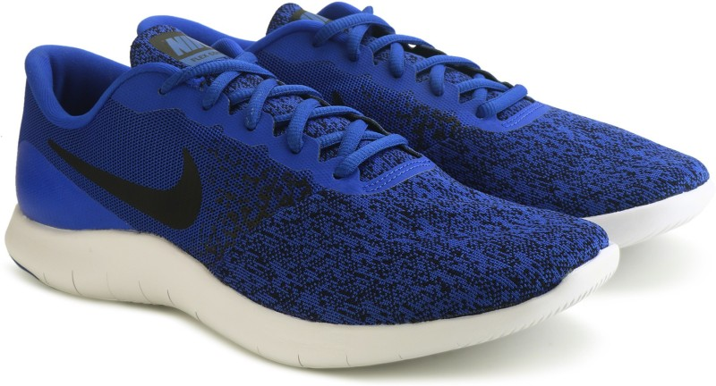Nike FLEX CONTACT Running Shoes For Men(Blue)
