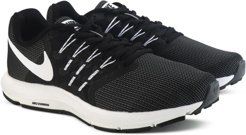 Nike RUN SWIFT Running Shoes For Men(Black, Grey)