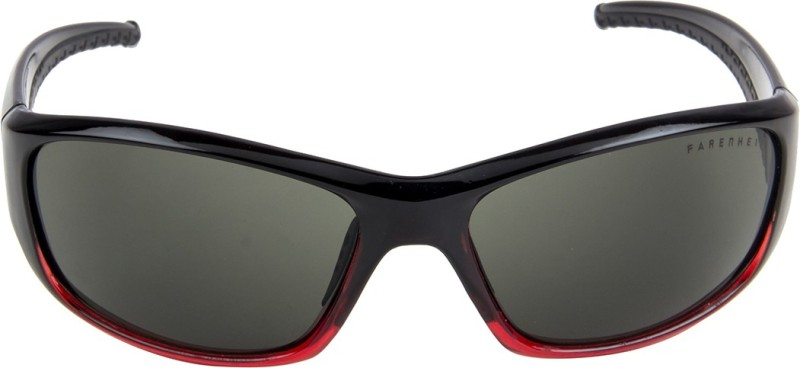 Farenheit Sports, Wayfarer, Rectangular Sunglasses(Green)