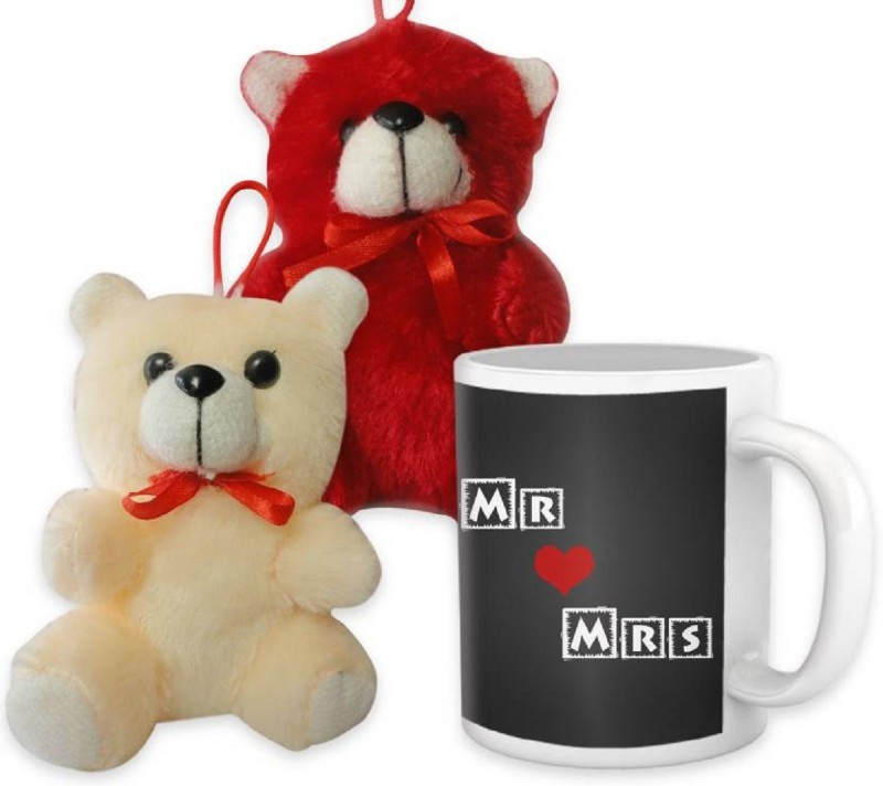 ME&YOU Mug, Soft Toy Gift Set