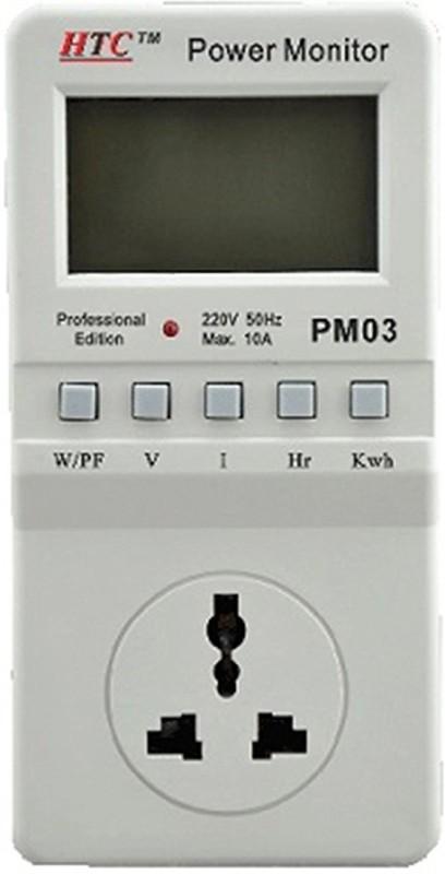HTC HTC PM-03 Energy Meter, Energy Metering, Power Guard, Monitor, Kill A Watt Digital Voltage Tester