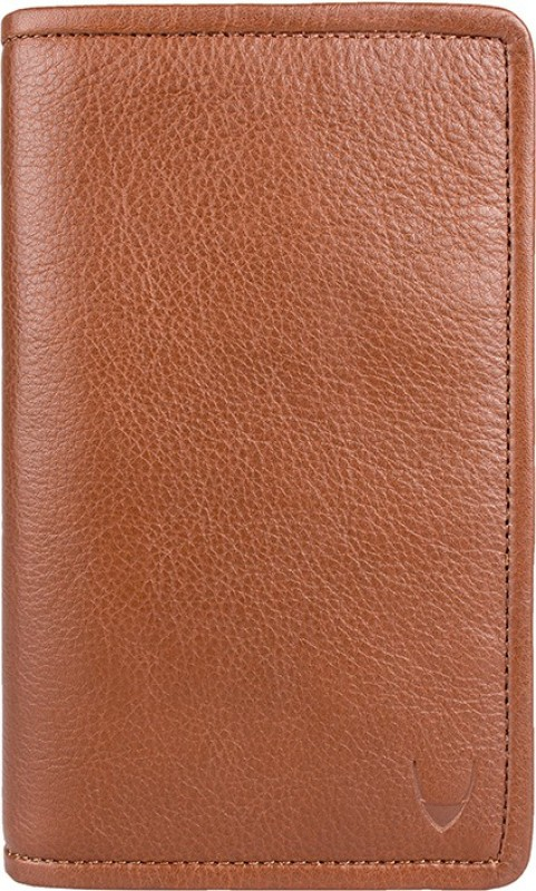 Hidesign Men Tan Genuine Leather Document Holder(15 Card Slots)