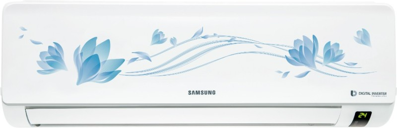 Samsung 1.5 Ton 3 Star BEE Rating 2018 Split AC - White(AR18NV3HETU, Aluminium Condenser)