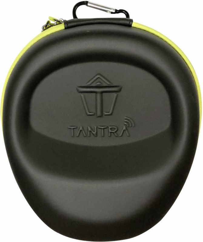 Tantra Speaker Case Cover for Tantra Universal Smart Headphone EVA Carry Case(Black, Artificial Leather)