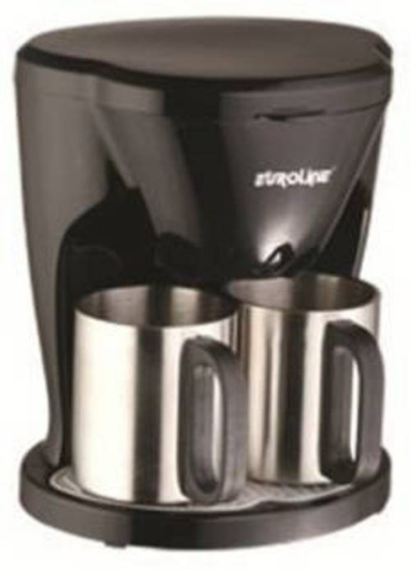 EUROLINE EL-1102 COFFEE MAKER 2 Cup 2 Coffee Maker(Black)