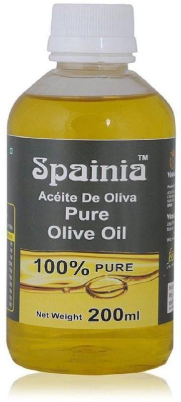 Spainia Pure Olive Oil 200 ML Olive Oil Plastic Bottle(200 ml)