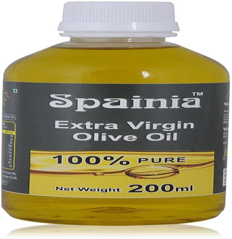 Spainia Extra Virgin Olive Oil 200 ML Olive Oil Plastic Bottle(200 ml)