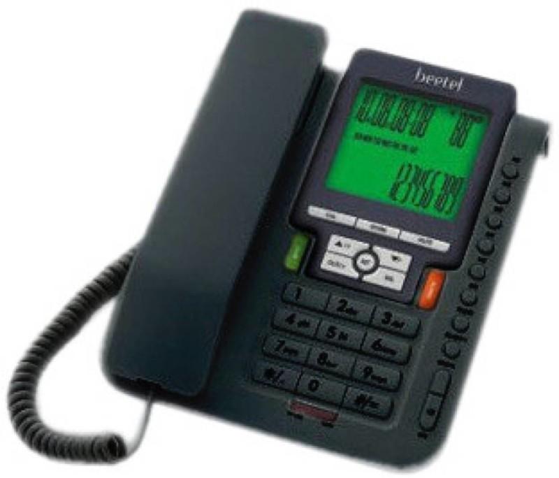 Beetel M-71-0021 Corded Landline Phone(Black)