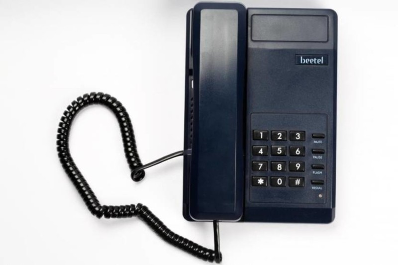 Beetel C-11-007 Corded Landline Phone(Black)