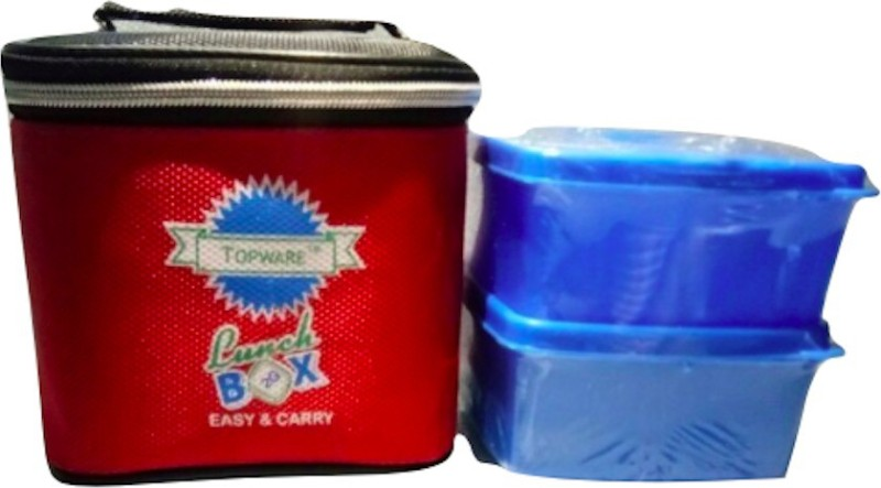 Topware 2G_BlueContainer 3 Containers Lunch Box(400 ml)