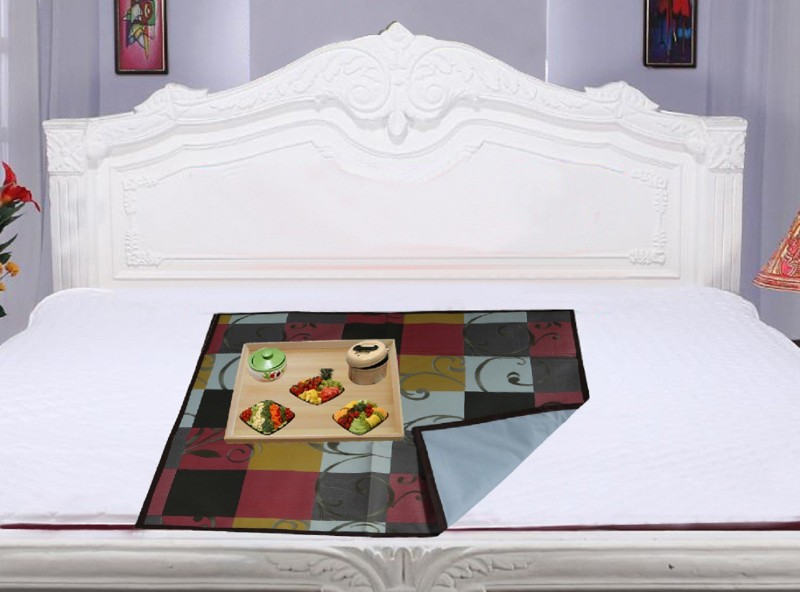 Kuber Industries PVC (Polyvinyl Chloride) Baby Bed Protecting Mat(Multicolor, Medium)