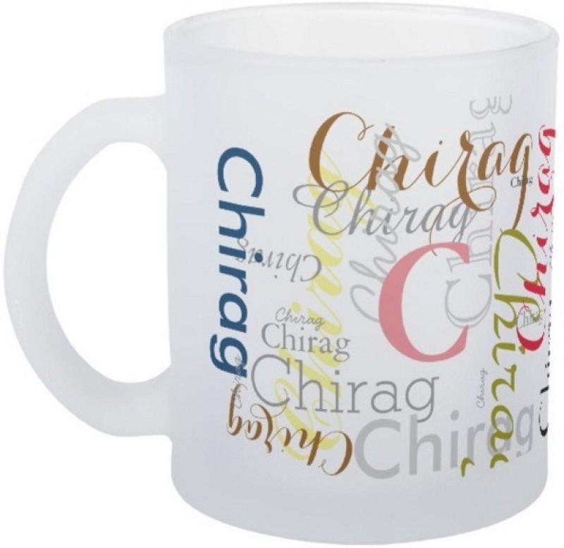 Exoctic Silver Chirag Ceramic Mug(330 ml)