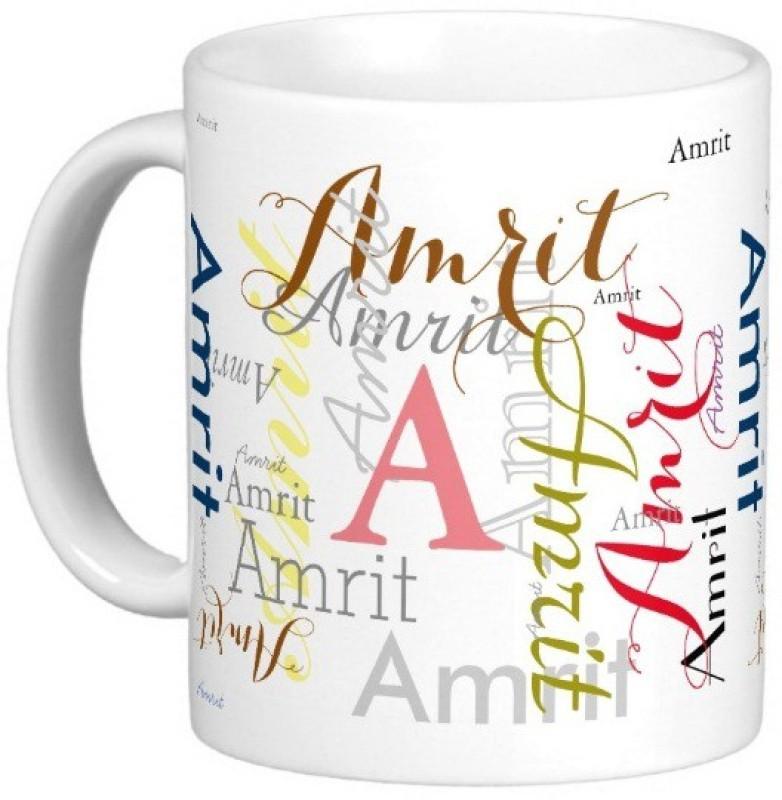GNS AMRIT Gift M006 Ceramic Mug(325 ml)