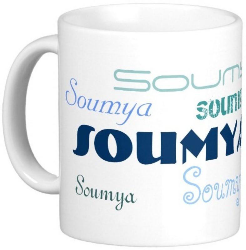 Exoctic Silver SOUMYA Ceramic Mug(330 ml)