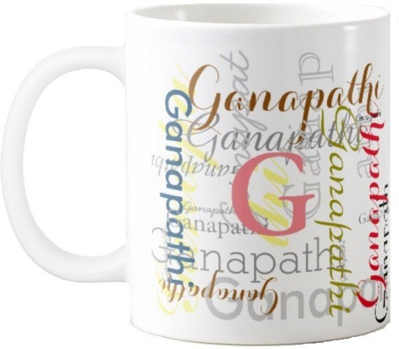 GNS Ganapathi Gift M006 Ceramic Mug(325 ml)