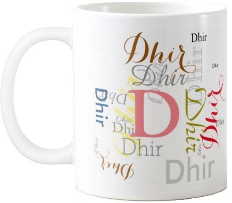GNS Dhir Gift M006 Ceramic Mug(325 ml)