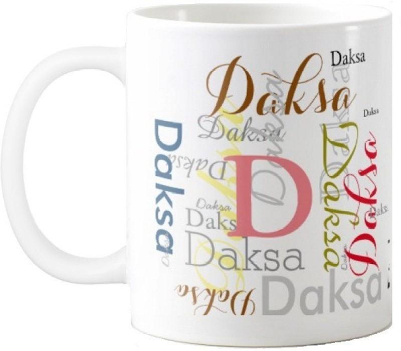 GNS Daksa Gift M006 Ceramic Mug(325 ml)