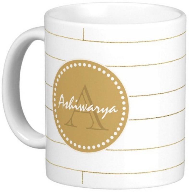 Exoctic Silver ASHIWARYA Ceramic Mug(330 ml)