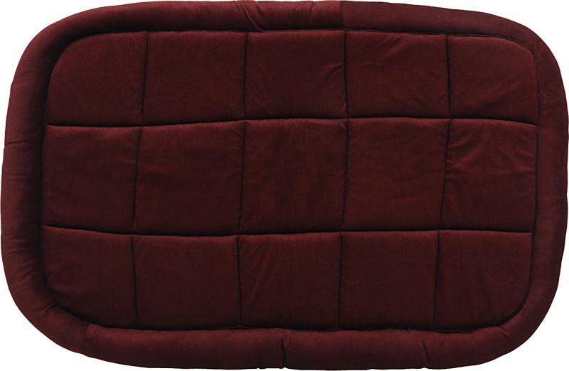 Jainsons Pet Products Velvet Brown Bed Dog Pet Mat