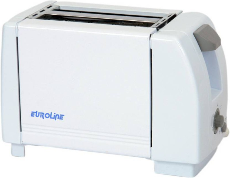 EUROLINE EL-830 750 W Pop Up Toaster(White)