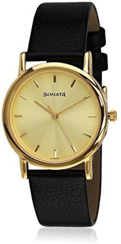 Sonata NH7987YL01CJ Analog Watch - For Men