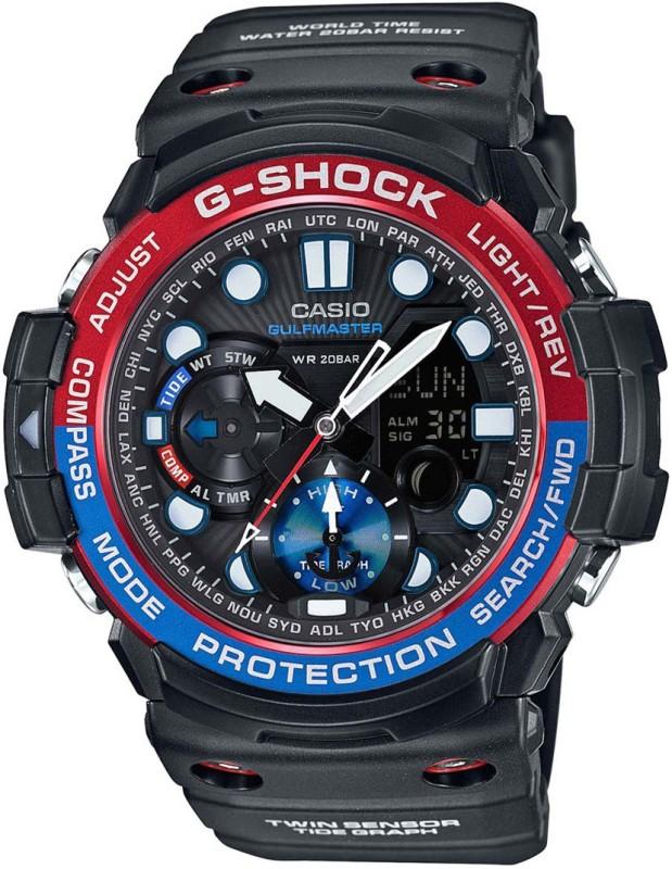 Casio G605 G-SHOCK Gulf Master Analog-Digital Watch - For Men