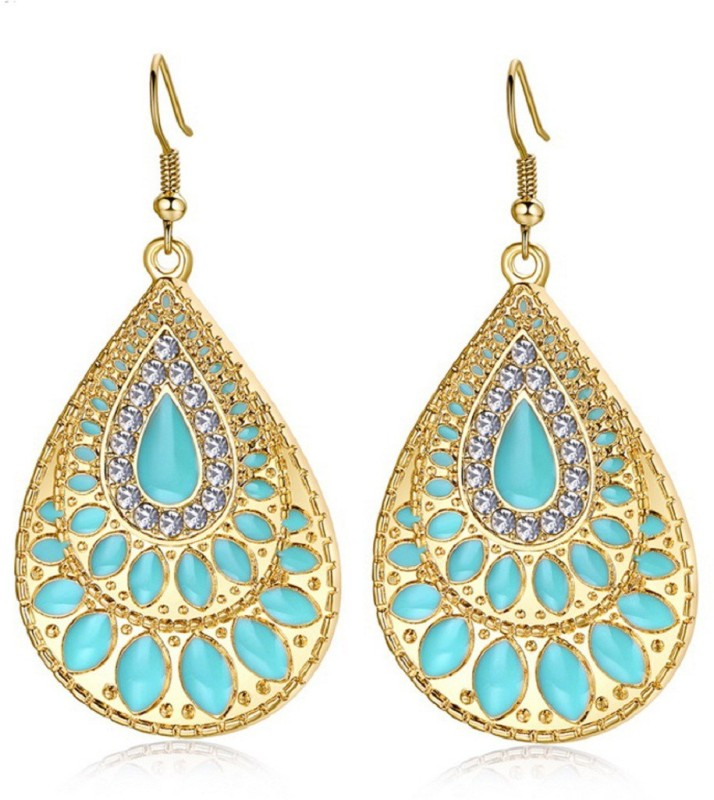Glitz Glitz Womens Vintage Drop & Dangle Earrings Fashion Jewellery at Low Price Alloy Drops & Danglers