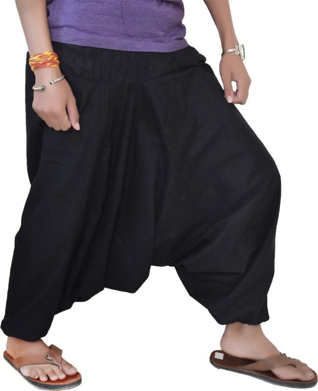 JWF Solid Cotton Women's Harem Pants