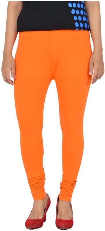Parivasu Legging(Orange, Solid)
