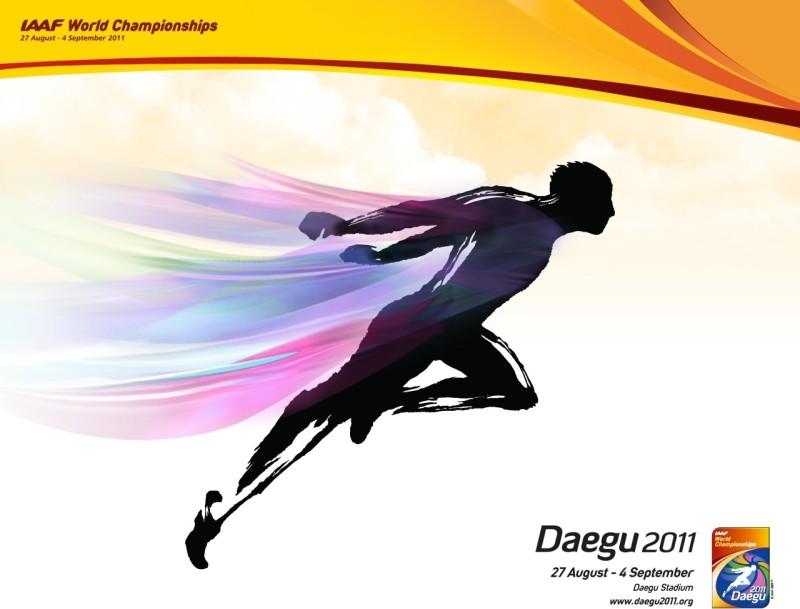 Akhuratha Poster Sports 2011 World Championships In Athletics Daegu 2011 HD Wallpaper Background Fine Art Print(12 inch X 18 inch, Rolled)