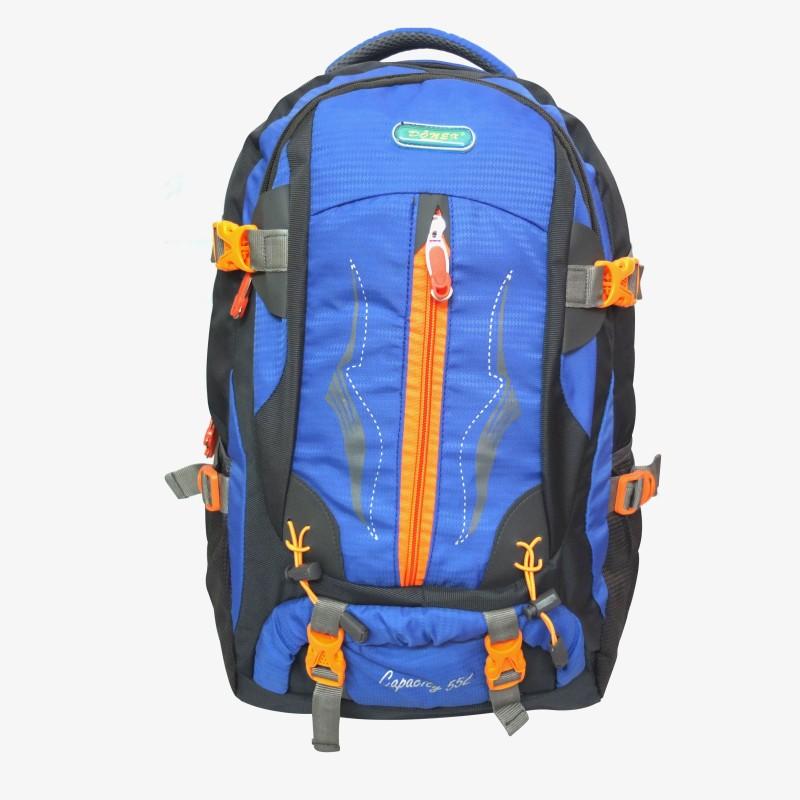 Donex 59742 Rucksack - 55 L(Blue)