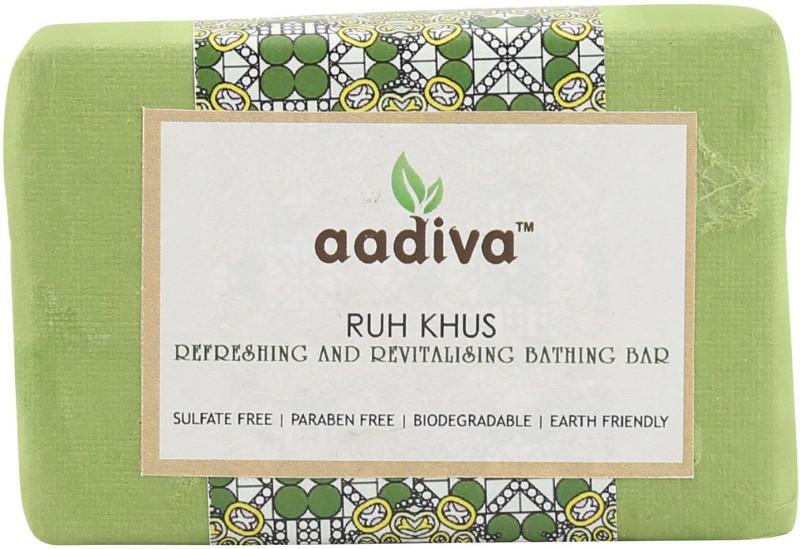 Aadiva Ruh Khus Herbal Soap - 100 gms(100 g)