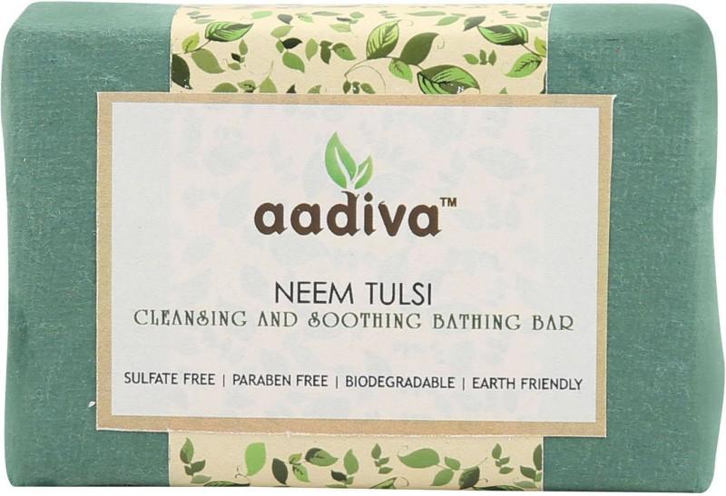 Aadiva Neem Tulsi Herbal Soothing Soap - 100 gms(100 g)