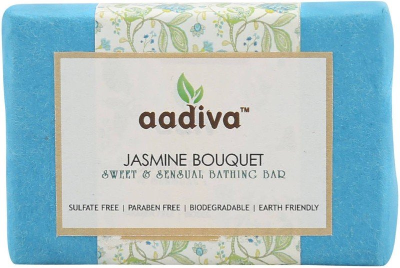 Aadiva Jasmine BouquetFloral Soap for Dry Skin - 100 gms(100 g)