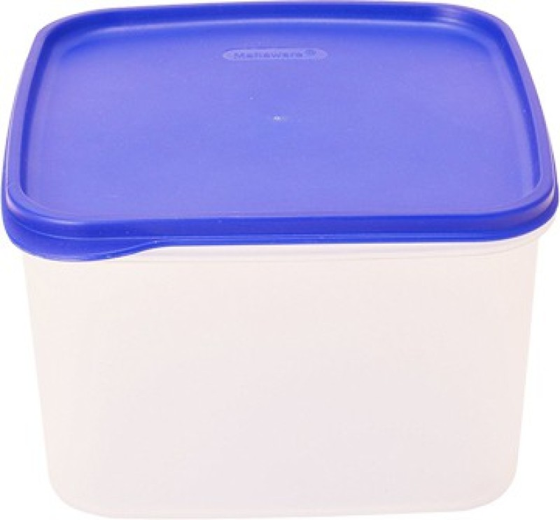 Tallboy Multi Purpose Storage Square Kitchen Container  - 2.5 L Plastic Grocery Container(White, Blue)